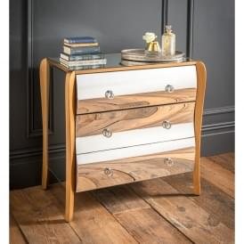 Paris Mirrored Chest of Drawers