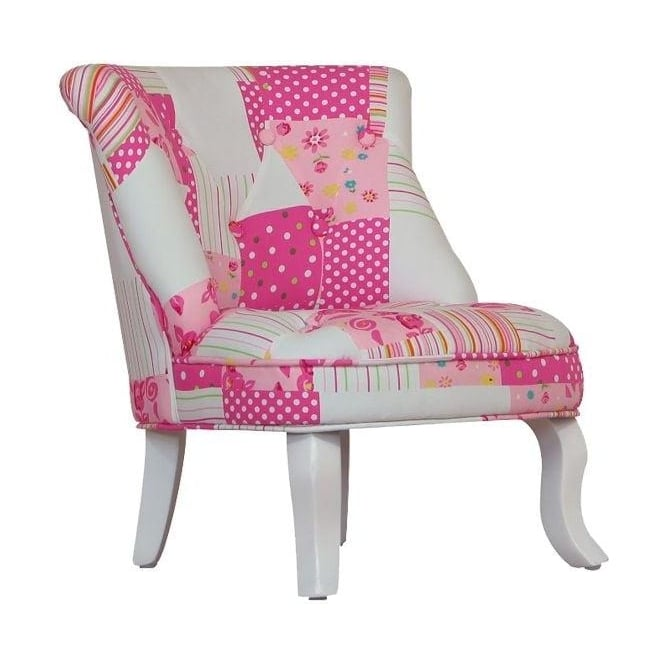 Patchwork Cabrio Antique French Style Mini Chair