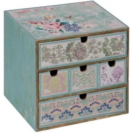 Patchwork Shabby Chic Chest