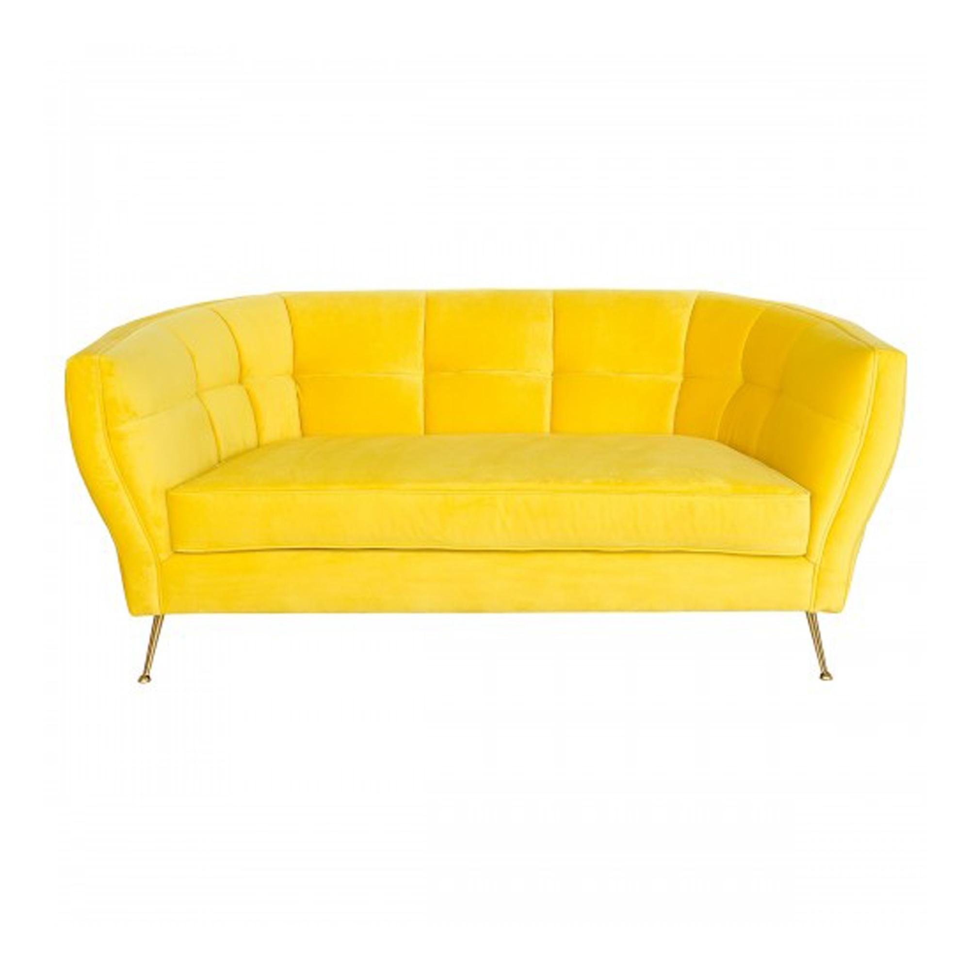 Patrice Yellow Sofa