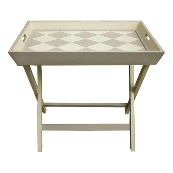 Patterned Tray Table