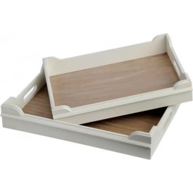 Pavilion Set Of Two Trays