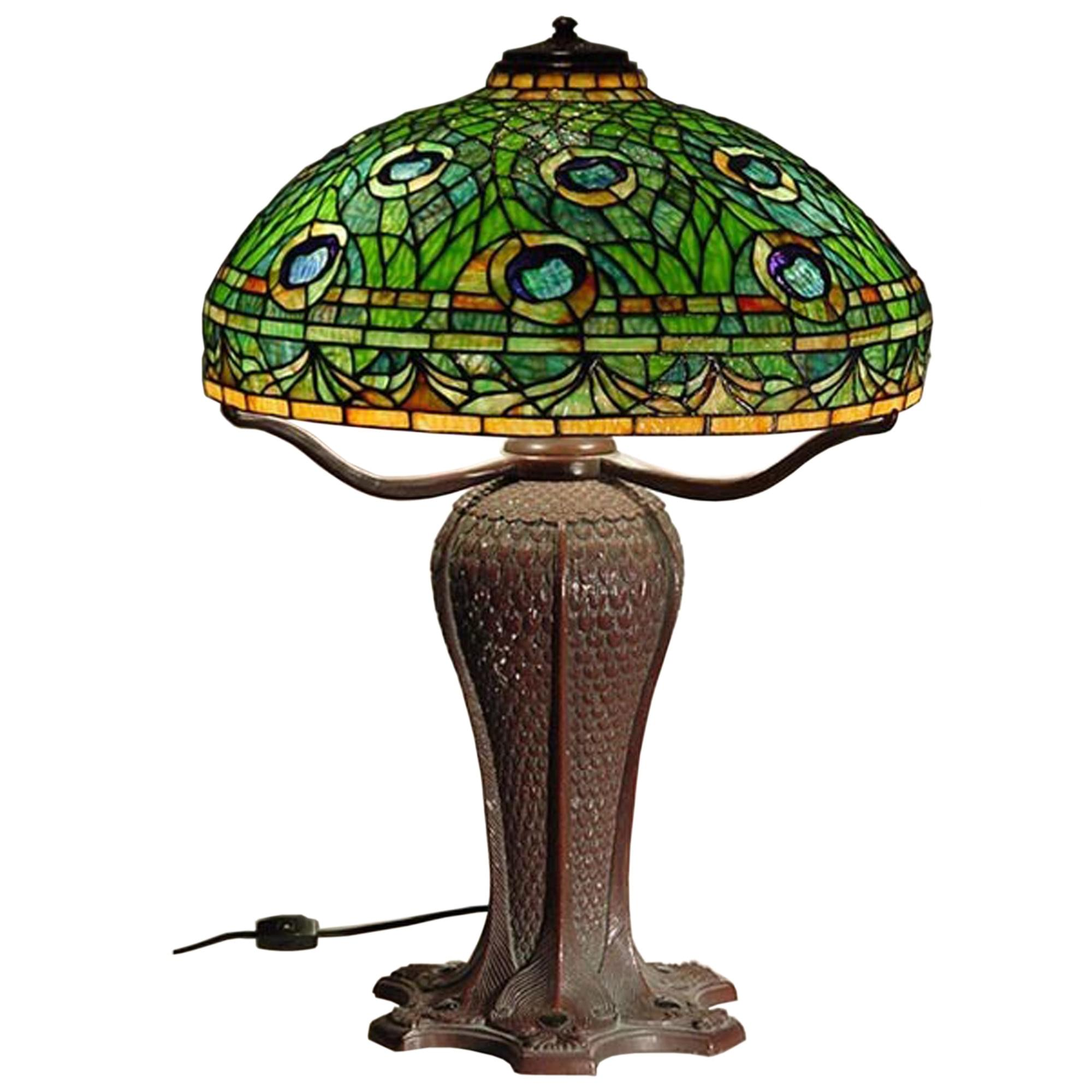 Details about Tiffany Baroque Design Semi Flush Ceiling Light Peacock Stained Glass Chandelier