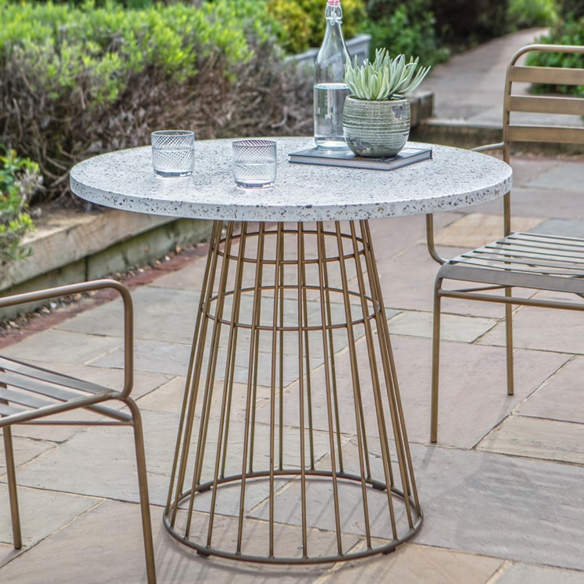 Pembury Bistro Table Outdoor Table Modern Dining Table