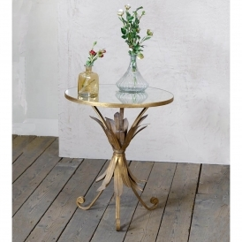 Pineapple Gin Shu Parisienne Metal Coffee Table
