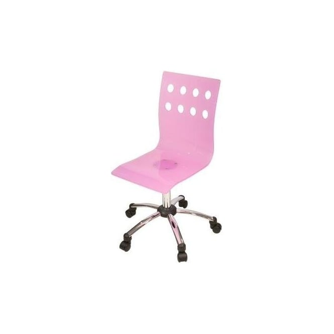 Pink Acrylic Chair