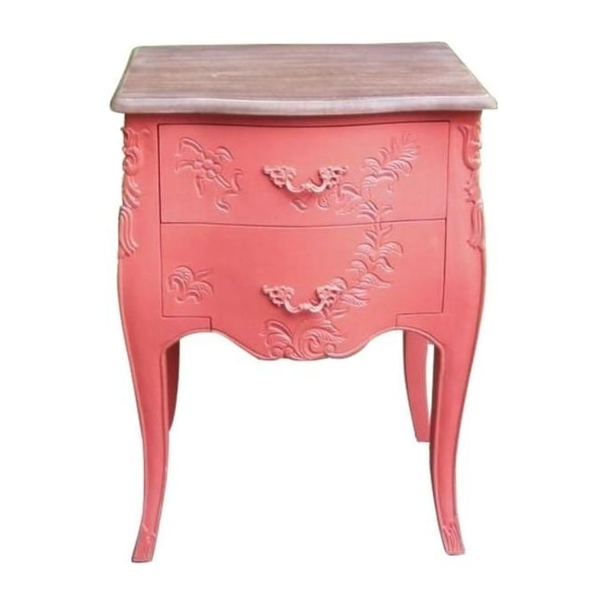 Pink Antique French Style Chest