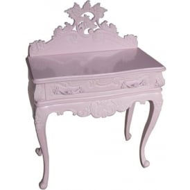 Pink Antique French Style Night Stand