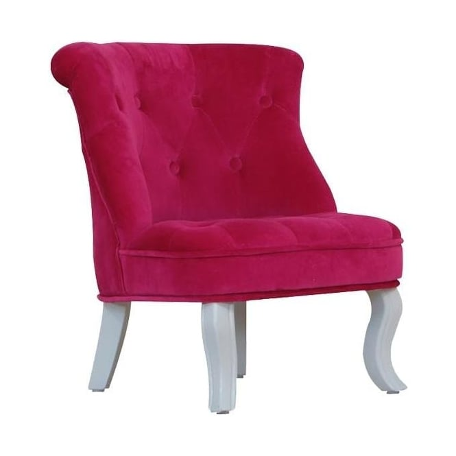 Pink Cabrio Antique French Style Mini Chair