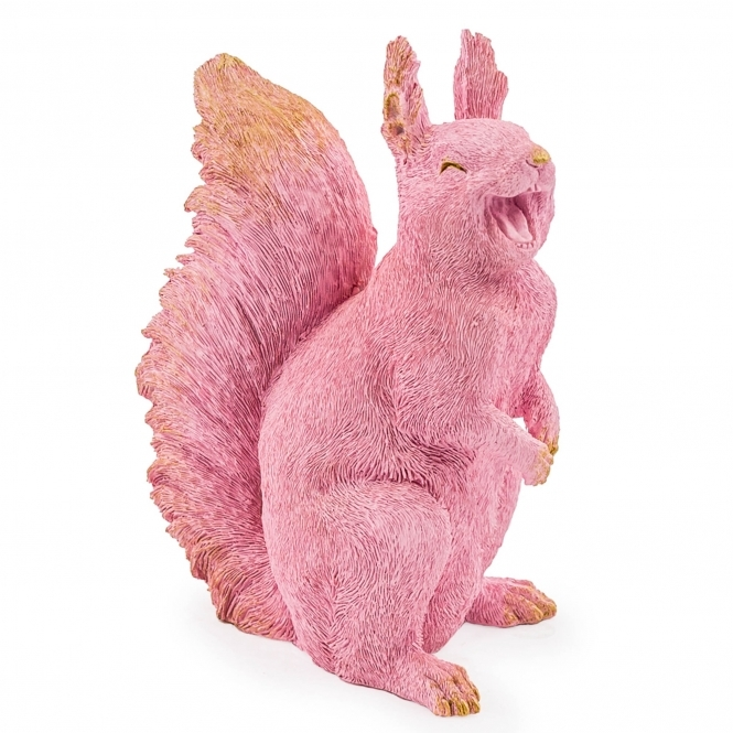 Pink Laughing Squirrel