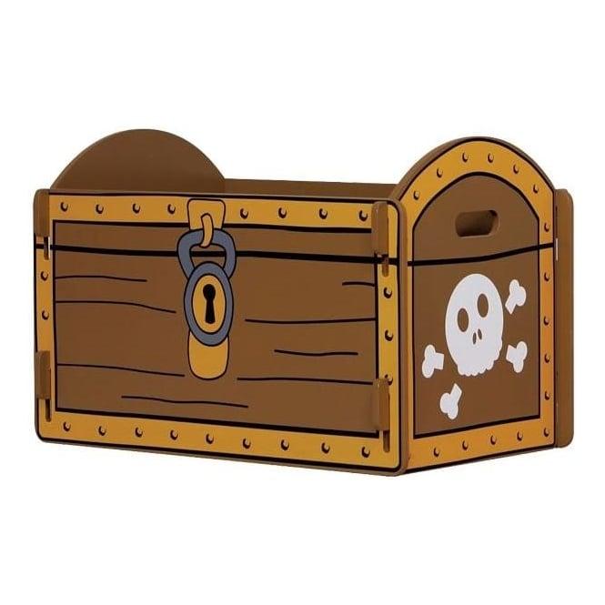 Pirate Treasure Chest Toy Box