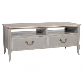 Poitiers Grey Shabby Chic TV Unit