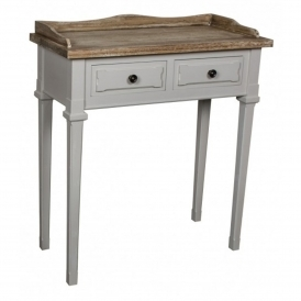 Portobello 2 Drawer Shabby Chic Console