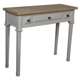 Portobello 3 Drawer Shabby Chic Console