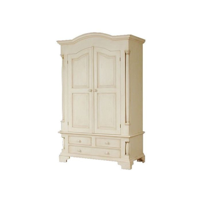 Canterbury Antique French Wardrobe Compliments Our Shabby Chic Furniture