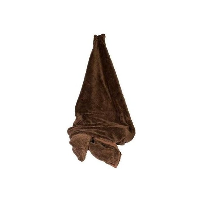 Brown Fleecy Throw