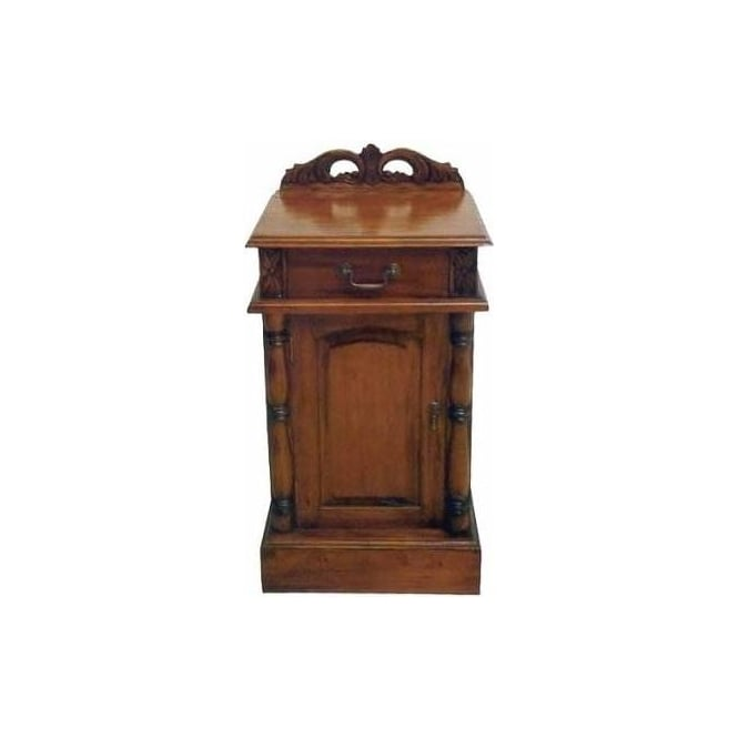 Victorian Antique French Style Bedside Cabinet