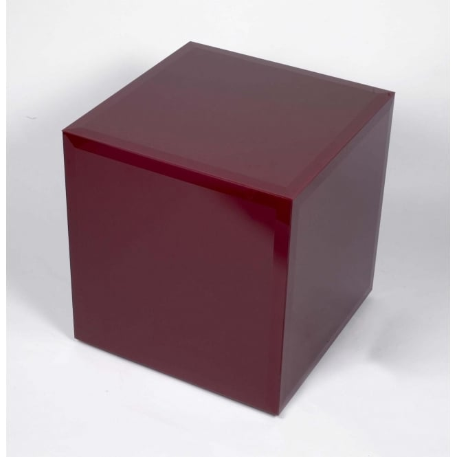 Red Glass Cube