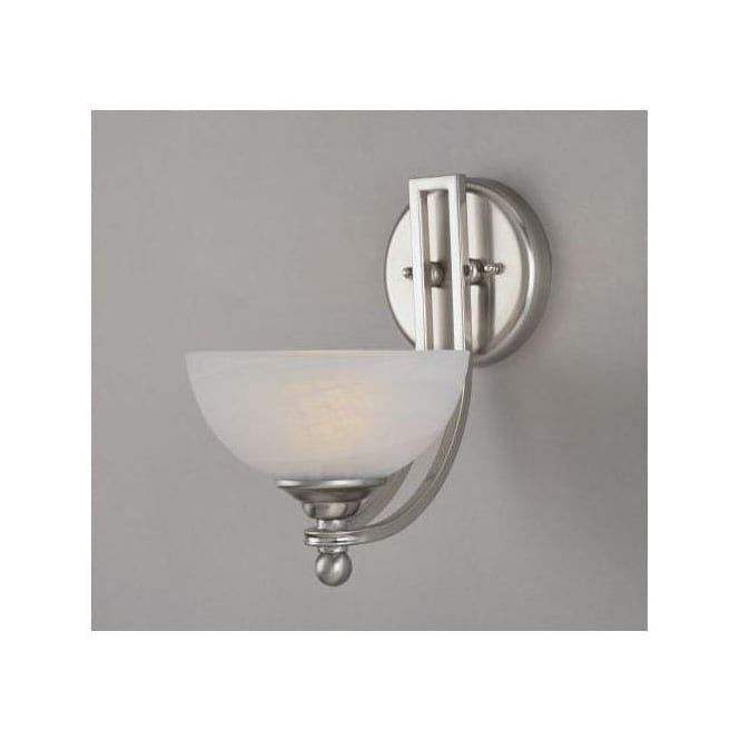 White Alabaster Wall Light