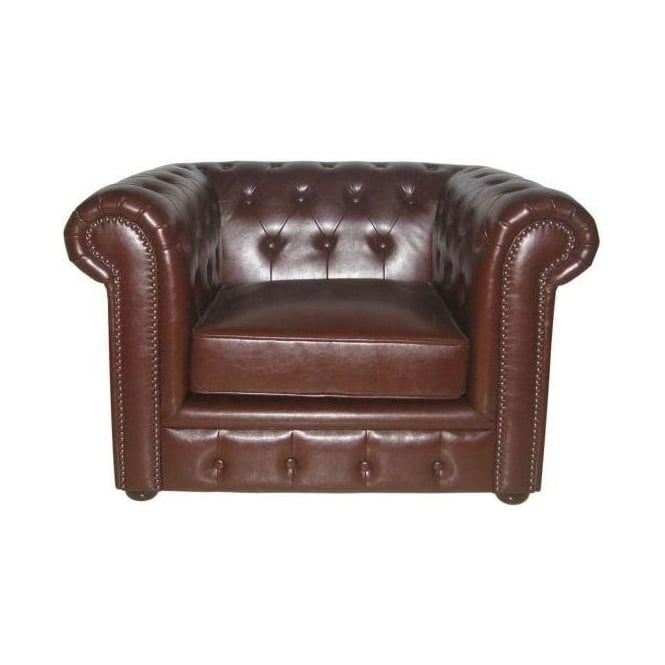 Chesterfield Antique Leather Chair