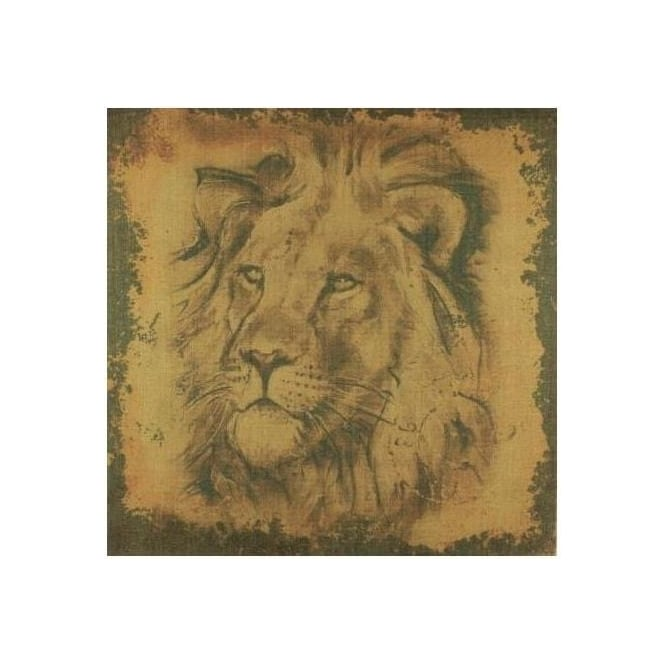 King of the Jungle Stretched Canvas