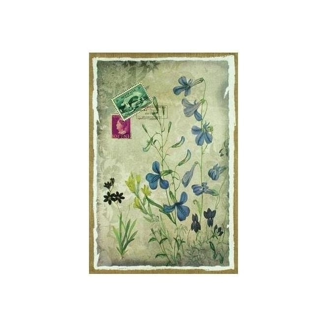 Floral Message Hessian Print