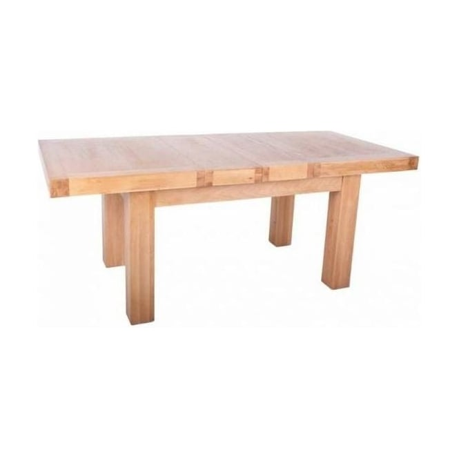 Chunky Oak 1.4M Extending Table