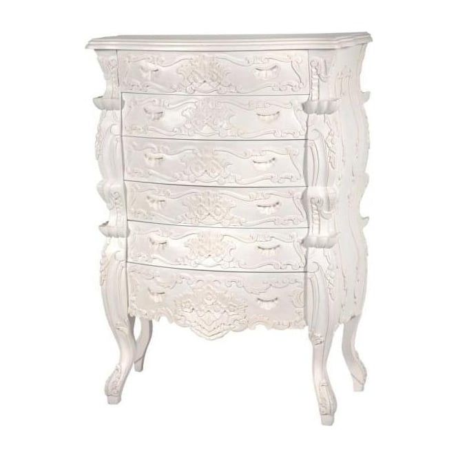 Rococo Antique French Style Chest