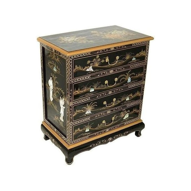 Mother of Pearl Chinese Chest