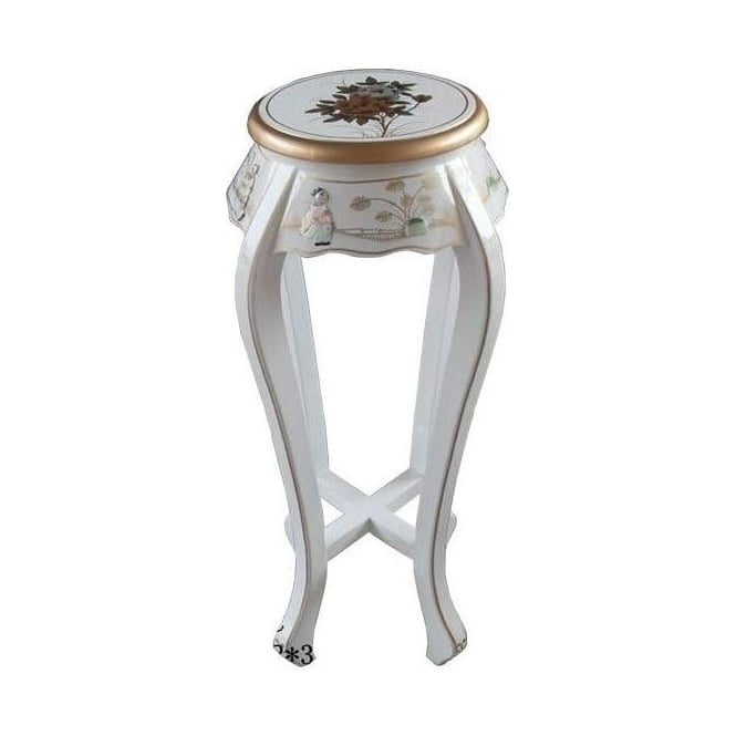 Mother of Pearl Plant Stand