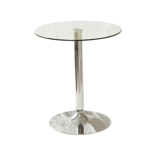 Glass Bistro Side Table