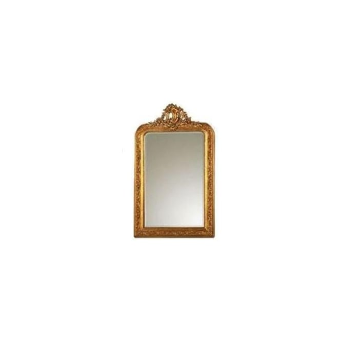 Ornate gold style antique french decorative wall mirror for Antique style wall mirror
