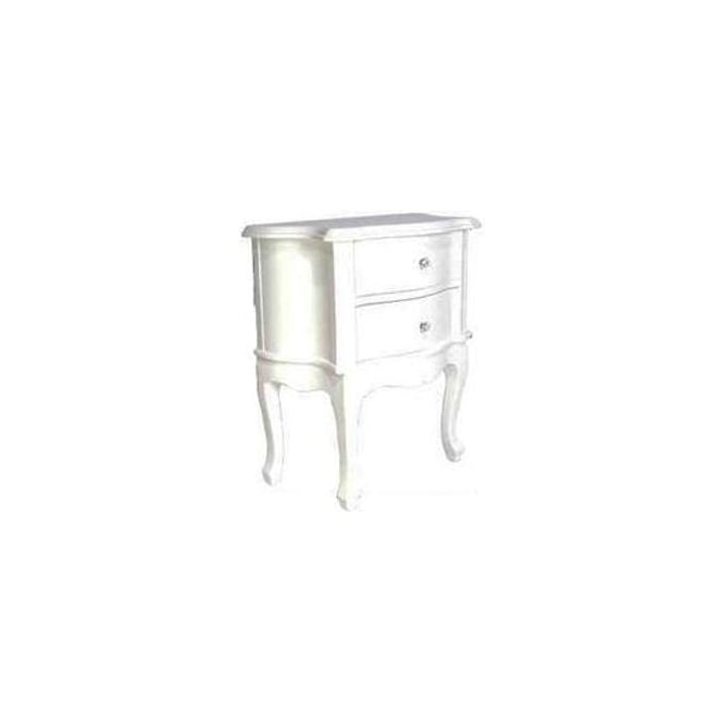 2 Drawer Antique French Style Bedside