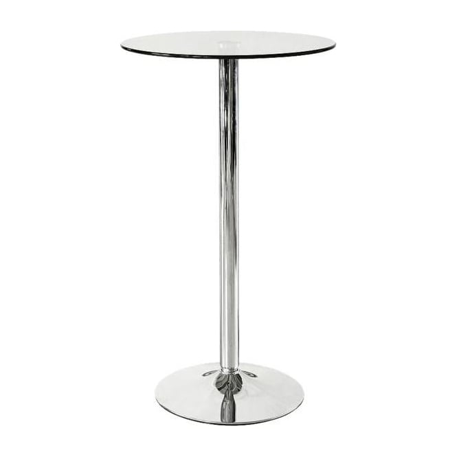 Glass Poseur Table