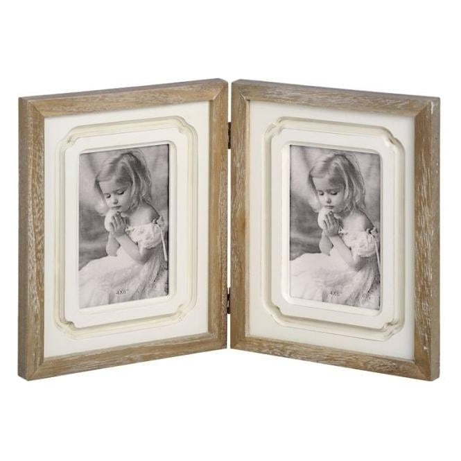Pavilion Folding Double Photo Frame