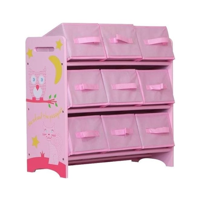 Owl and Pussycat Storage Set