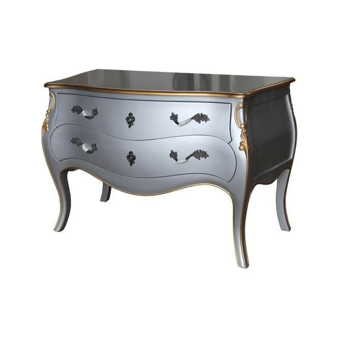 Silver Antique French Style Chest