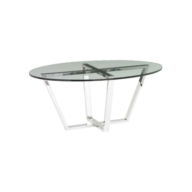 Brenzette Tempered Glass Coffee Table