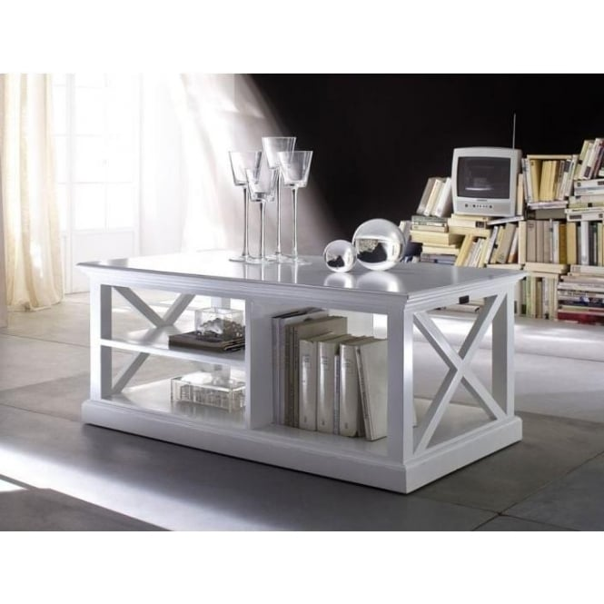 Whitehaven Shabby Chic Coffee Table