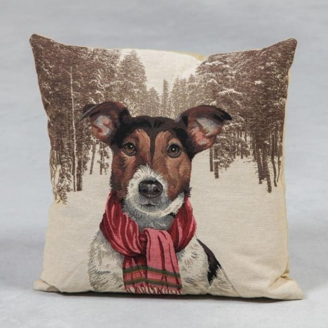 Jack Russell Tapestry Cushion
