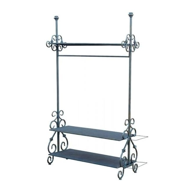 Iron Antique French Style Coat Stand