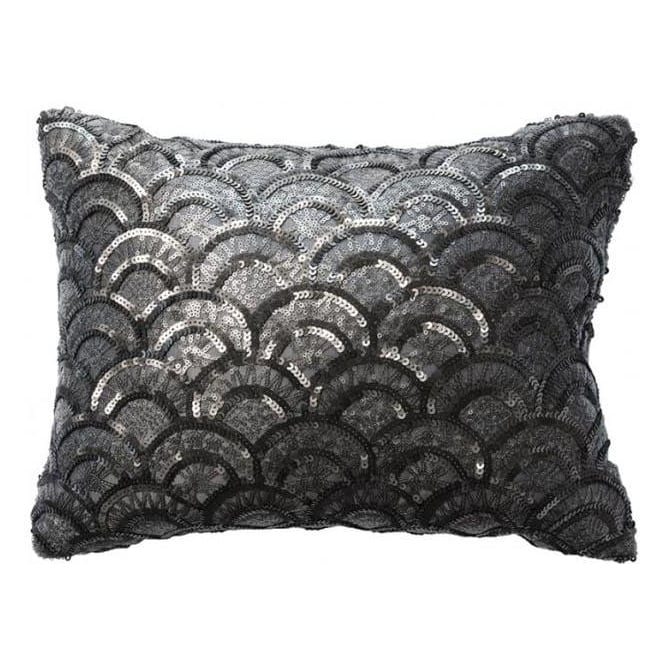 Charcoal Deco Cushion