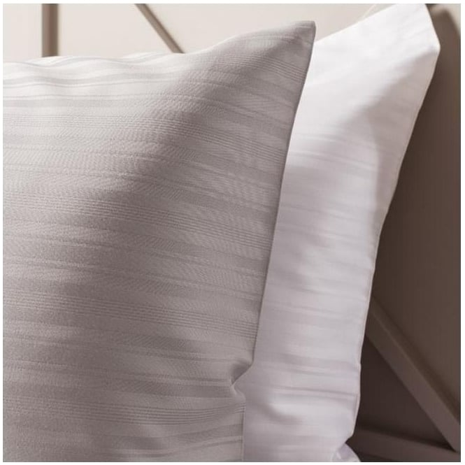 Silver Strada Housewife Pillowcase (2 Pack)