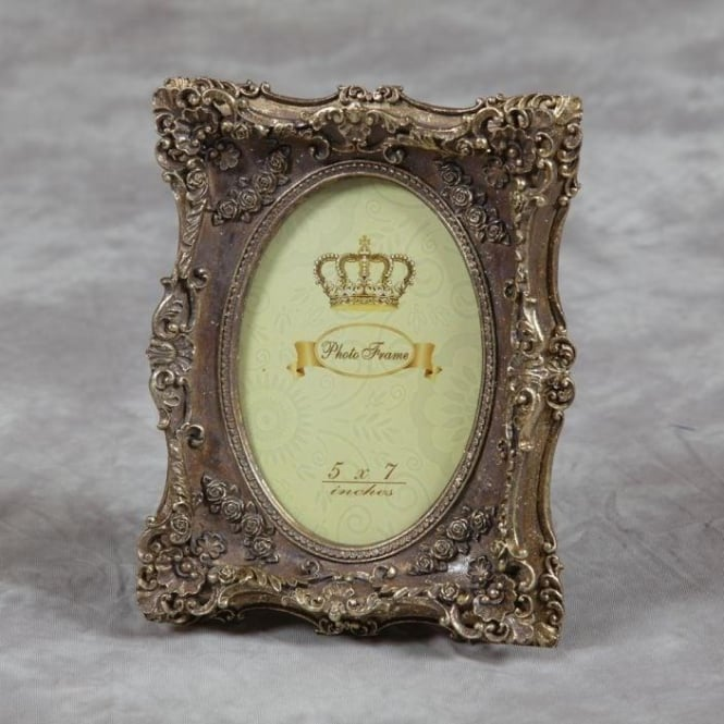 Gold Antique French Style Photo Frame
