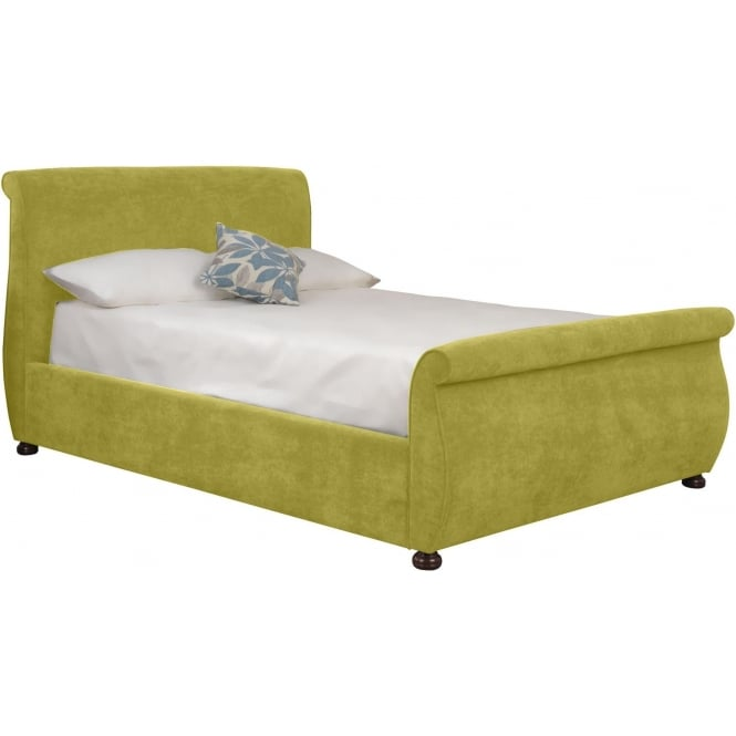 Lime Adore Fabric Bed