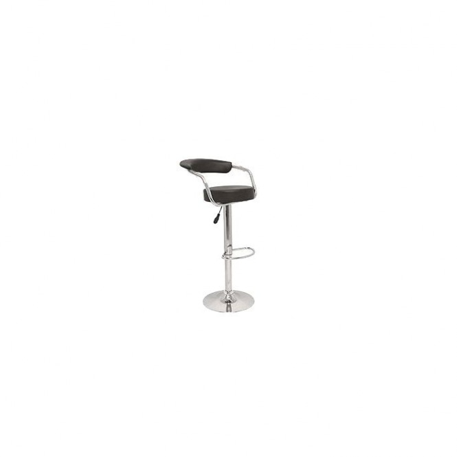 Black Zenith Bar Stool