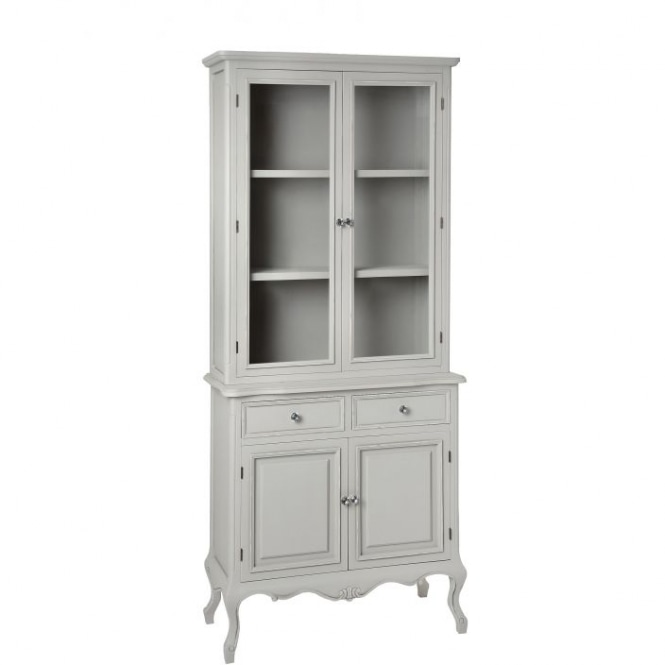 Fleur Shabby Chic Display Cabinet