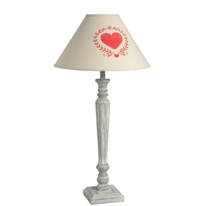 Country Farmhouse Antique French Style Table Lamp