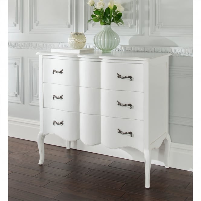 Estelle Antique French Style Chest Of Drawers