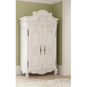 Rococo Antique French Style Wardrobe